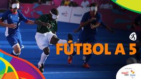 Paralímpicos Rio 2016: Fútbol a 5