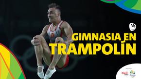 Rio 2016: Gimnasia en trampolín